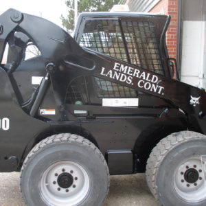 end loader graphics for commercial landscape company