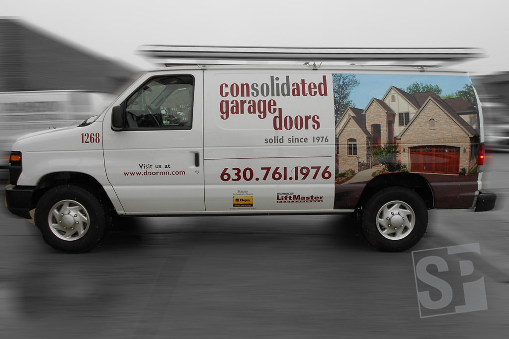 Best source of advertisement is commercial fleet graphics for Garage ford reparation