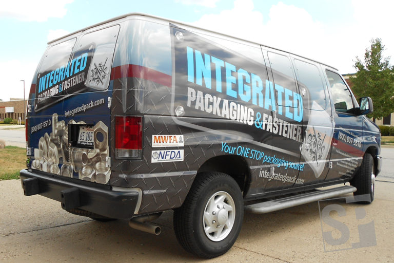 full wrap on a ford e-250 van