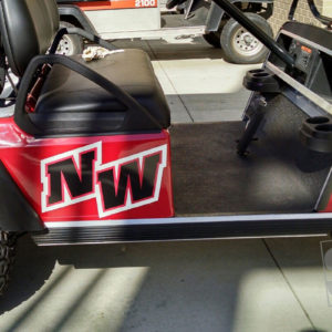 Custom Golf Cart graphics