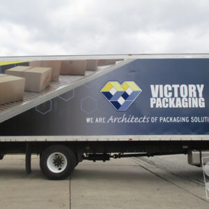 vivtory packaging graphics installed at a 3m certified company
