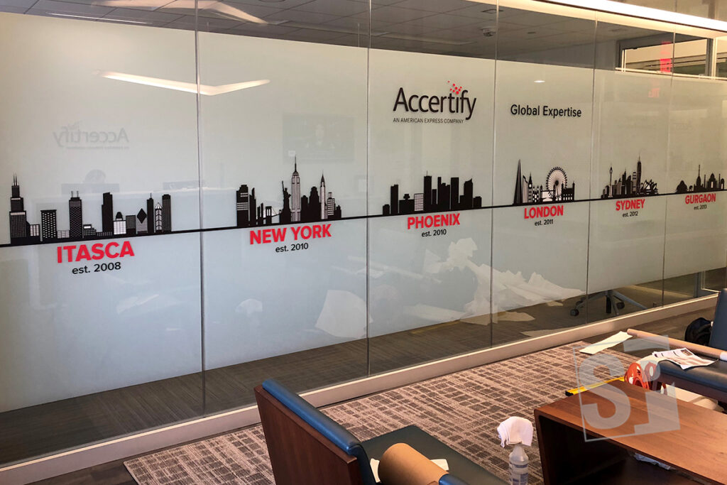 Accertify-Digitally-Printed-Vinyl-Graphics-Applied-to-Glass-Windows-with-Etched-Background